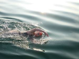 katie sunrise swim